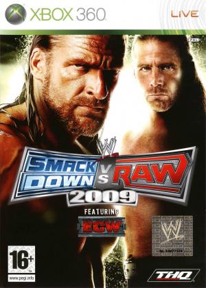 WWE Smackdown vs Raw 2009 sur 360