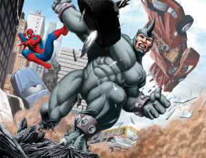 The Amazing Spider-Man : Rhino se présente