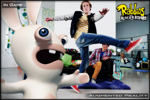 GC 2011 : Images de The Lapins Crétins sur Kinect
