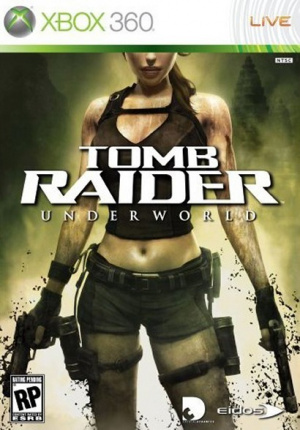 Tomb Raider Underworld sur 360