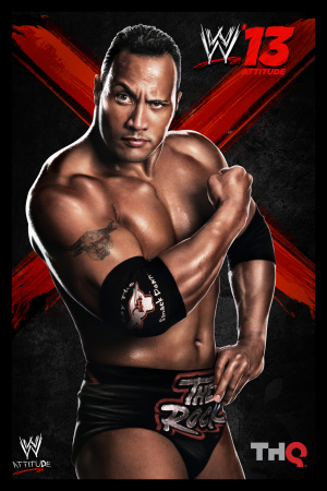 WWE'13 : The Rock fait le spectacle