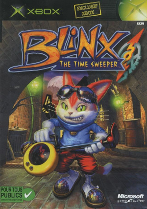 Blinx : The Time Sweeper sur Xbox