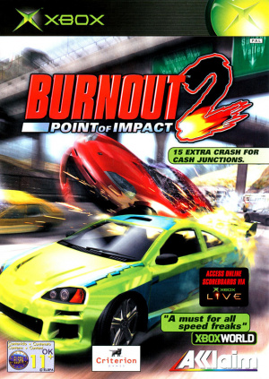 Burnout 2 : Point of Impact sur Xbox