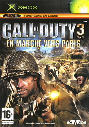 Call of Duty 3 : En Marche vers Paris sur Xbox