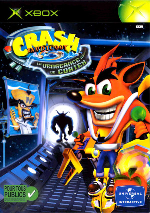 Crash Bandicoot : La Vengeance de Cortex sur Xbox