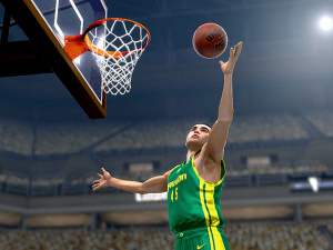 Images : College Hoops 2K7 tend le bras