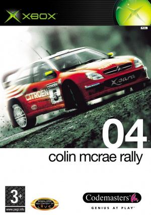 Colin McRae Rally 04 sur Xbox