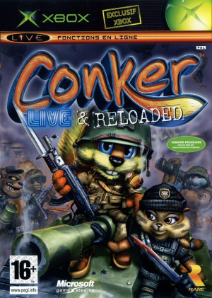 Conker : Live & Reloaded sur Xbox
