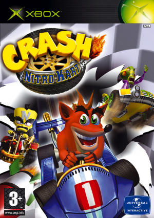 Crash Nitro Kart sur Xbox