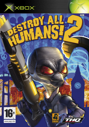 Destroy All Humans! 2 sur Xbox