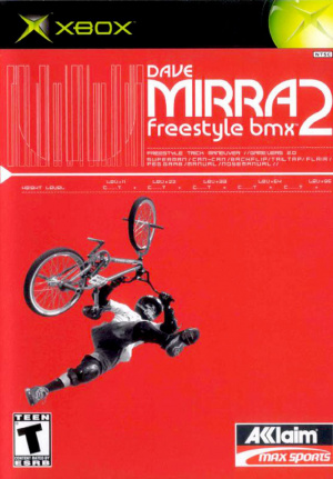 Dave Mirra Freestyle BMX 2 sur Xbox