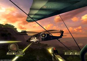 Au menu multijoueurs de Far Cry Instinct Evolution