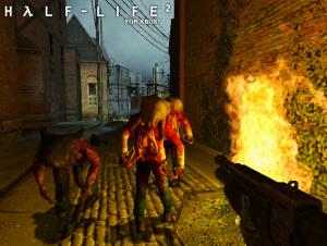 Half-Life 2 straffe sur Xbox