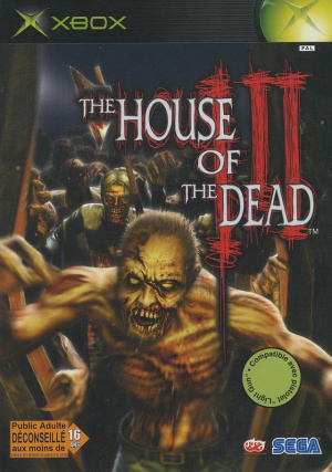 The House of the Dead III sur Xbox