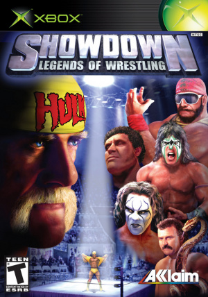 Showdown : Legends of Wrestling sur Xbox