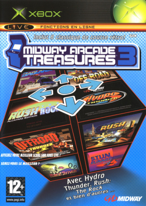 Midway Arcade Treasures 3 sur Xbox
