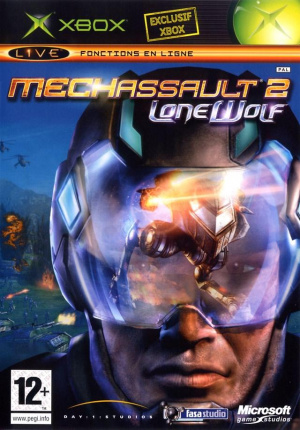Mechassault 2 : Lone Wolf sur Xbox