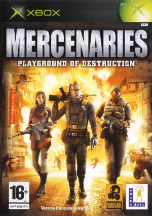 Mercenaries sur Xbox