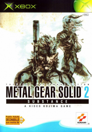 Metal Gear Solid 2 Substance sur Xbox