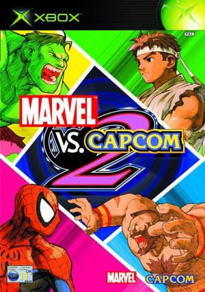 Marvel vs. Capcom 2 : New Age of Heroes sur Xbox