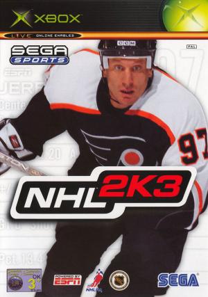 NHL 2K3 sur Xbox