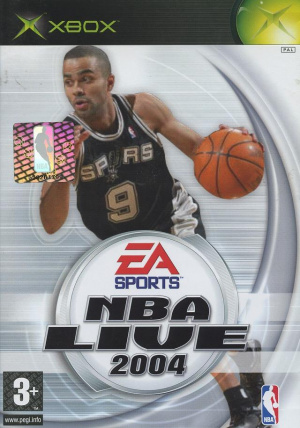 NBA Live 2004 sur Xbox
