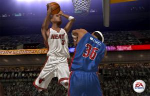 NBA Live 06 sur le parquet