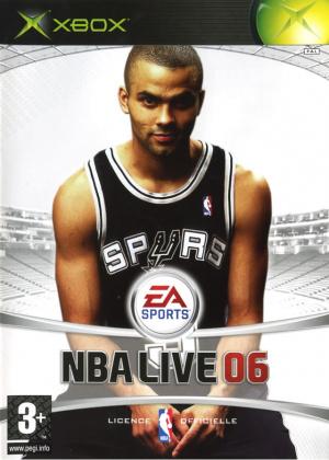 NBA Live 06 sur Xbox