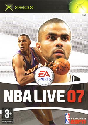NBA Live 07 sur Xbox