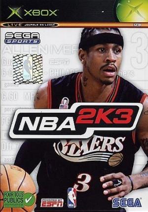 NBA 2K3 sur Xbox