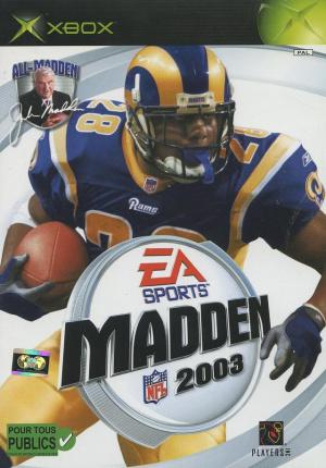 Madden NFL 2003 sur Xbox