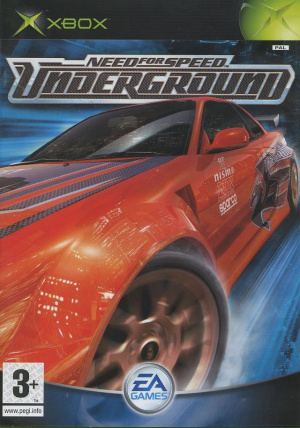 Need for Speed Underground sur Xbox