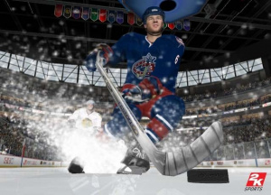 NHL 2K6 sur la glace