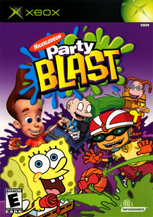 Nickelodeon Party Blast sur Xbox