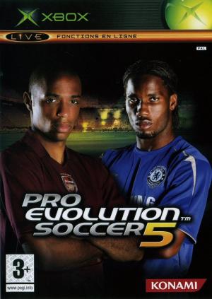 Pro Evolution Soccer 5 sur Xbox