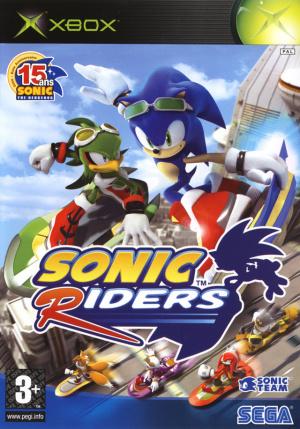 Sonic Riders sur Xbox