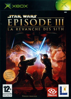 Star Wars Episode III : La Revanche des Sith sur Xbox