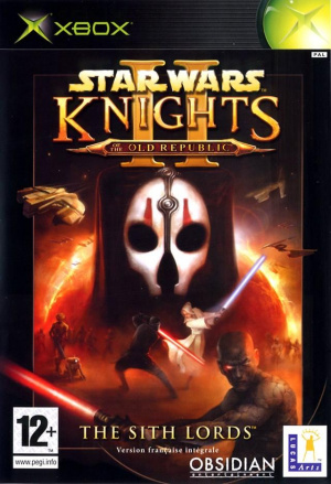 Star Wars : Knights of the Old Republic II : The Sith Lords sur Xbox