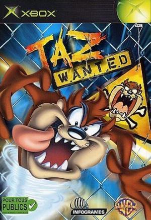 Taz Wanted sur Xbox