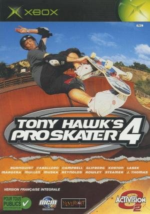 Tony Hawk's Pro Skater 4 sur Xbox