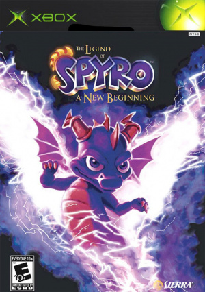 The Legend of Spyro : A New Beginning sur Xbox