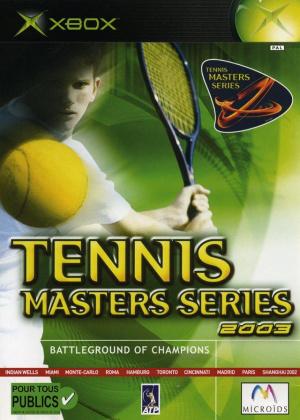 Tennis Masters Series 2003 sur Xbox