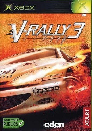 V-Rally 3 sur Xbox