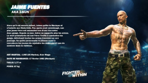 Les combattants de Fighter Within