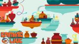 Hohokum : Voyage psychédélique à bord du Serpentin Express !