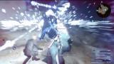 Final Fantasy XV : Combat et magie contre un boss qui ne rigole pas