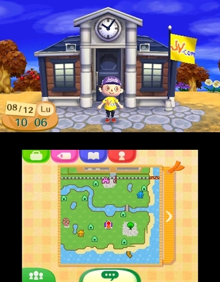 Test Animal Crossing : New Leaf Nintendo 3DS - Screenshot 78