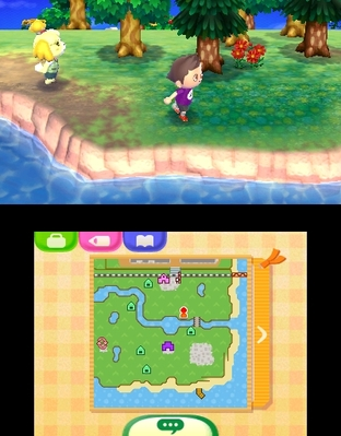 Test Animal Crossing : New Leaf Nintendo 3DS - Screenshot 79