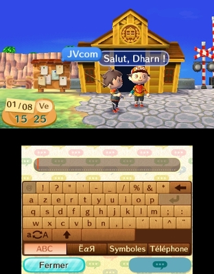 Test Animal Crossing : New Leaf Nintendo 3DS - Screenshot 80