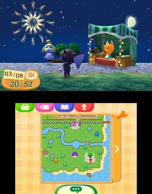 Test Animal Crossing : New Leaf Nintendo 3DS - Screenshot 81
